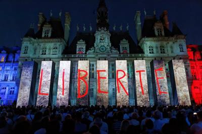 Les festivités du 73e anniversaire de la Libération de Paris