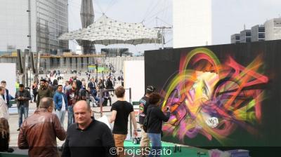 Underground effect, des street artistes en live à la Défense
