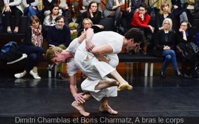 Parades for FIAC 2017 : Dimitri Chamblas et Boris Charmatz, A bras le corps