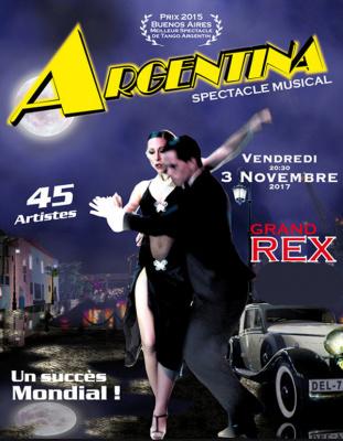 Argentina, le spectacle musical inédit au Grand Rex de Paris