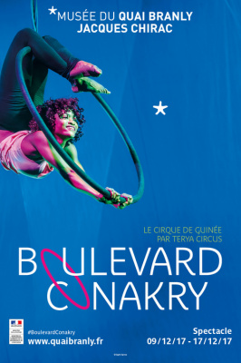 Boulevard Conakry, le cirque guinéen au Quai Branly