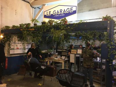 Le Garage éphémère de Merci Alfred