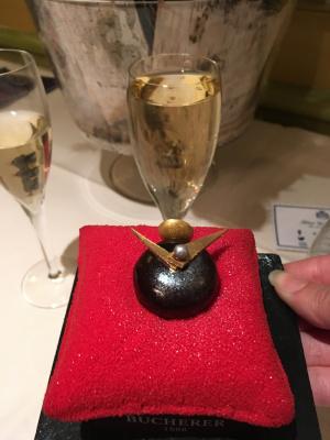 Un temps à croquer by Bucherer, le tea-time du Westminster pour Noël 2017