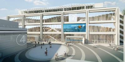 Le Parc des Expos - Paris Porte de Versailles a un nouveau centre des congrès