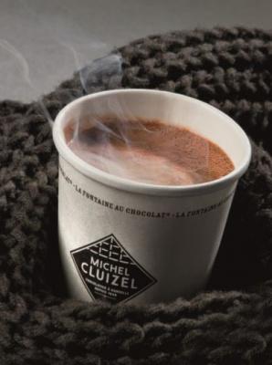 La Manufacture Cluizel propose des chocolats chaud à 1€