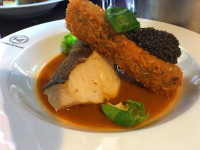 La Cuisine du Troquet cuisine le Caviar d'Aquitaine