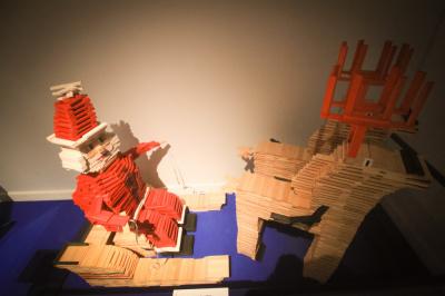 Exposition Kapla à l'Hôtel de Ville, animations gratuites pour les enfants