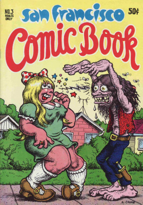 Exposition Crumb, Musée d'Art Moderne de Paris,, San Francisco Comic Book 1970, Edition Print Mint © Robert Crumb