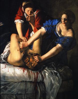 Artémisia, Giuditta decapita Oloferne © Fototeca Soprintendenza per il PSAE e per il Polo museale della città di Napoli, Musée Maillol