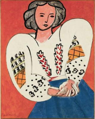 Henry Matisse, La Blouse Romaine, 1940  © Succession H. Matisse