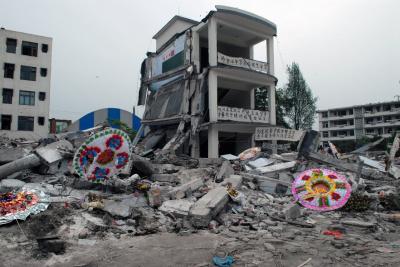 Tremblement de terre au Sichuan, © Ai Weiwei, exposition Jeu de Paume,