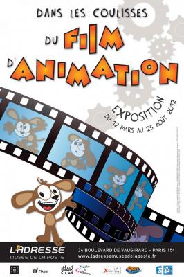 Dans les coulisses du film d'animation, exposition Musée de la Poste