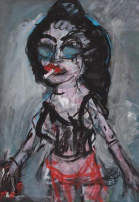 Joanna Flatau, exposition Galerie Roi Doré Paris