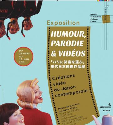 Festival humour Maison du Japon Paris, Festival Humour Parodies Vidéos Maison du Japon Paris, Exposition Maison du Japon Paris