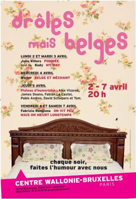 Walter humour, humour Belge, festival humour Paris avril 2012, Belges mais Drôles Centre Wallonie-Bruxelles Paris, Festival humour belge Paris 2012, Centre Wallonie Bruxelles festival rire Paris