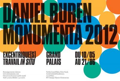 Daniel Buren Monumenta 2012, Monumenta Paris 2012, Monumenta Grand Palais, Monumenta 2012, Daniel Buren exposition Paris