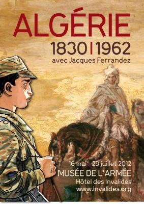 Exposition Algérie Musée de l'Armée