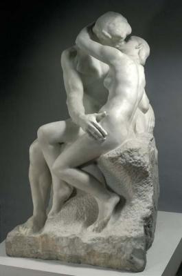 exposition Musée Rodin Paris juin 2012, exposition sculpture rodin marbre Paris 2012, exposition Rodin, la chair, le marbre 2012 | Auguste Rodin  Le Baiser  © Musée Rodin - Photo : Christian Baraja