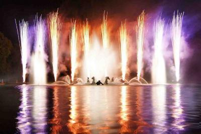 Grandes Eaux Nocturnes 2012 Chateau de Versailles, spectacle Chateau Versailles été 2012, Eaux Nocturnes Versailles 2012 | Crédit photo : JCNDiaye