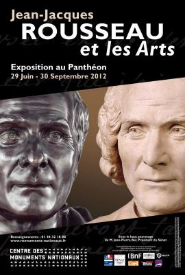 exposition Jean-Jacques Rousseau Panthéon, exposition Panthéon 2012