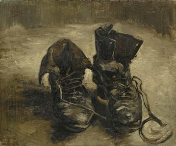 Van Gogh Chaussures | Vincent Van Gogh (1853 – 1890)    Chaussures    1886    Huile sur toile, 38,1 x 45,3 cm    Amsterdam, Musée Van Gogh    © Van Gogh Museum, Amsterdam (Vincent van Gogh Foundation)