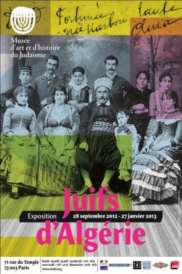 exposition Juifs d'Algerie Musée Judaisme