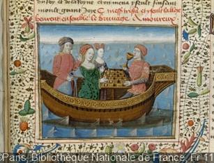 """Roman de Tristan en prose """"Tristan et Yseult"""" fol. 239"""