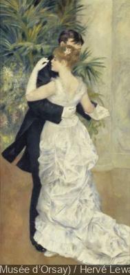 Impressionnisme et la Mode Musée d'Orsay | Pierre-Auguste Renoir, Danse à la ville, 1883
