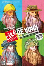 exposition Leonard de Vinci Cité des Sciences