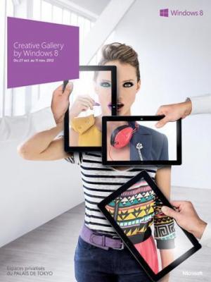 creative gallery by Windows 8 au Palais de Tokyo