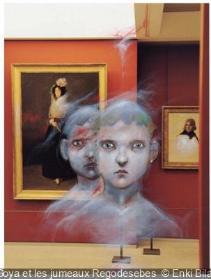exposition les Fantomes du Louvre Enki Bilal Musée du Louvre 2012