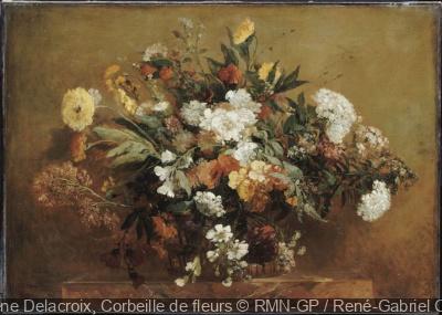 exposition Fleurs en hiver Musée Delacroix
