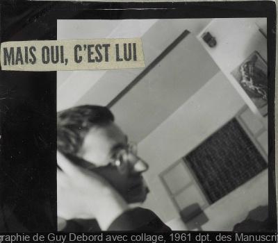exposition Guy Debord BNF 2013