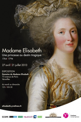 Madame Elisabeth, exposition Domaine de Versailles