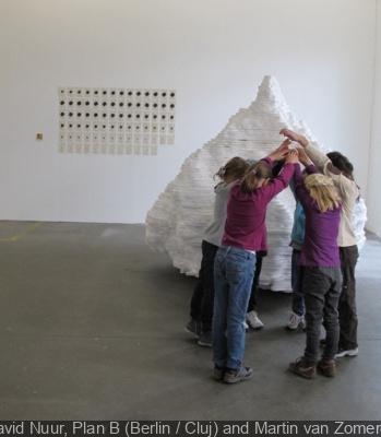 installation Ta Da Navid Nuur Centre Pompidou 2013
