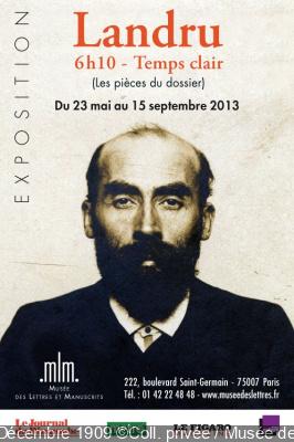 Exposition Landru Musée des Lettres et Manuscrits