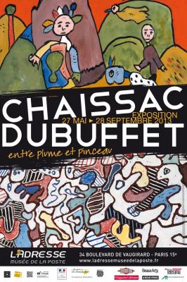 exposition Chaissac-Dubuffet Musée de la Poste
