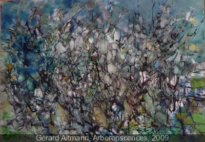 exposition Du pigment Pébéo à l'oeuvre de Gérard Altmann au Musée du Montparnasse
