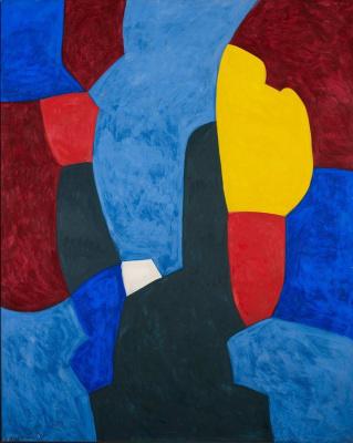Serge Poliakoff, Composition abstraite, Collection particulière  © ADAGP Paris, 2013