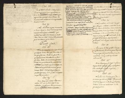 Déclaration des Droits de l'Homme 1793 Musée des Lettres et des Manuscrits