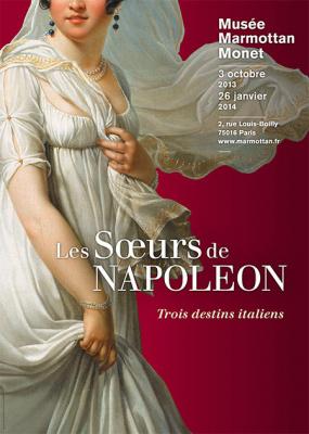 exposition les Soeurs de Napoléon, au Musée Marmottan