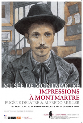 exposition impressions à Montmartre au Musée de Montmartre