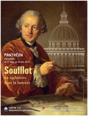 exposition Soufflot au Panthéon