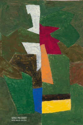 exposition Serge Poliakoff au Musée Maillol