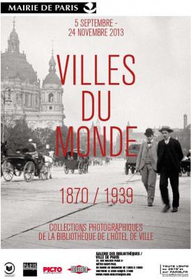 exposition Villes du Monde à la Galerie des Bibliothèques