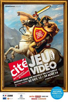 affiche exposition Jeu video Cité des Sciences