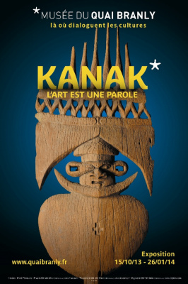 exposition Kanak Musée du Quai Branly