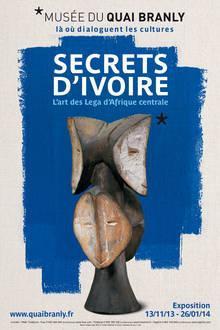 exposition Secrets d'ivoire au Musée du Quai Branly