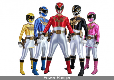 Les Power Rangers dédicaces au Salon Kidexpo