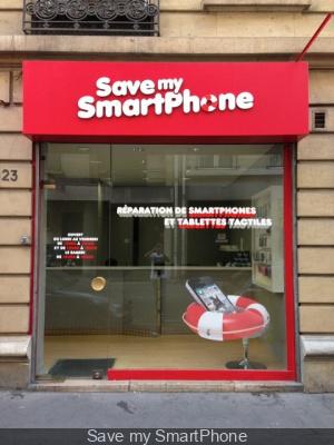 Save my Smartphone, boutique et réparation de téléphone à Paris